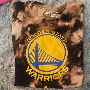 Custom TYE DYE warriors shirt